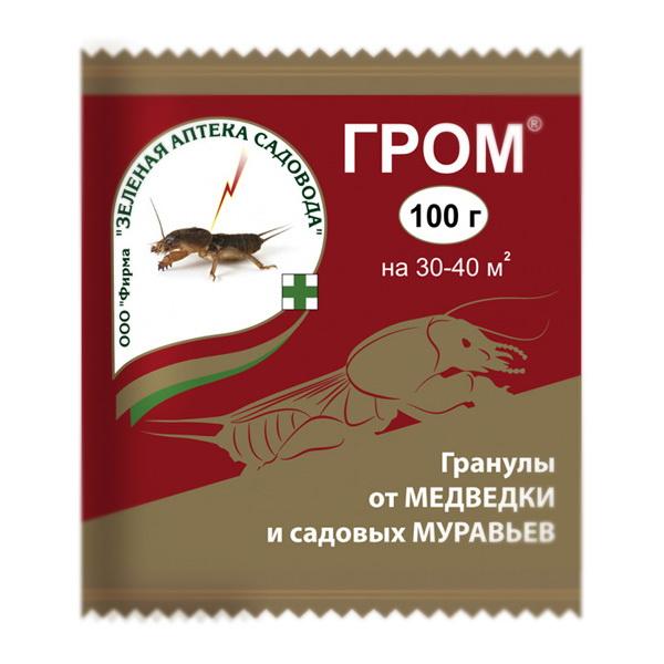 Гром 100г (инсектицид), ЗАС