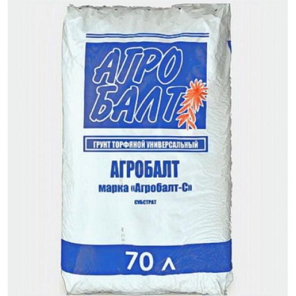 """""""Агробалт С"""", субстрат на основе верхового торфа- 70л"""